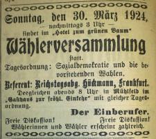 28. März 1924