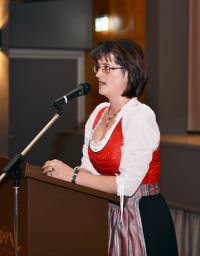 Renate Haag, Kreisvorsitzende des Nordbayerischen Musikbundes Rhön-Grabfeld